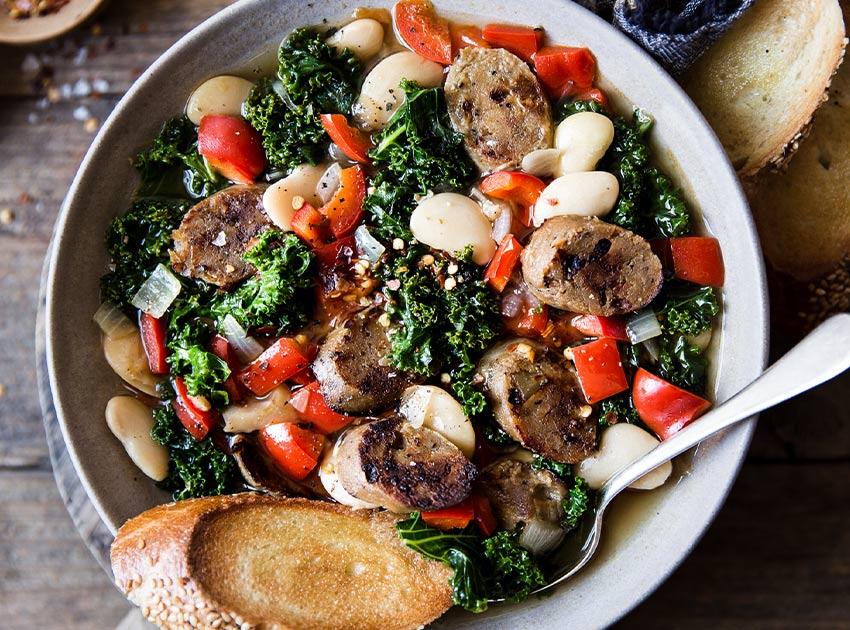 Italian Garlic & Fennel Sausage Links