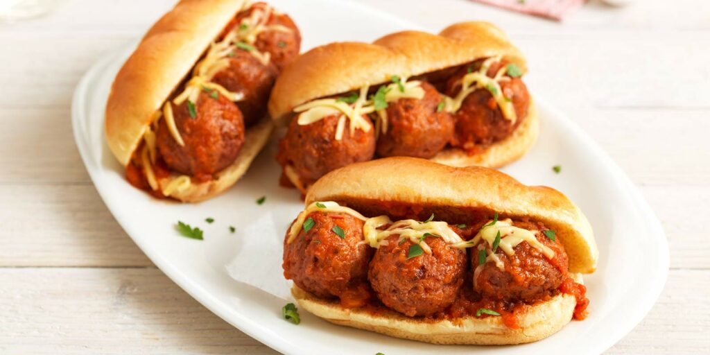 Plant-Based Meatball Mini Subs