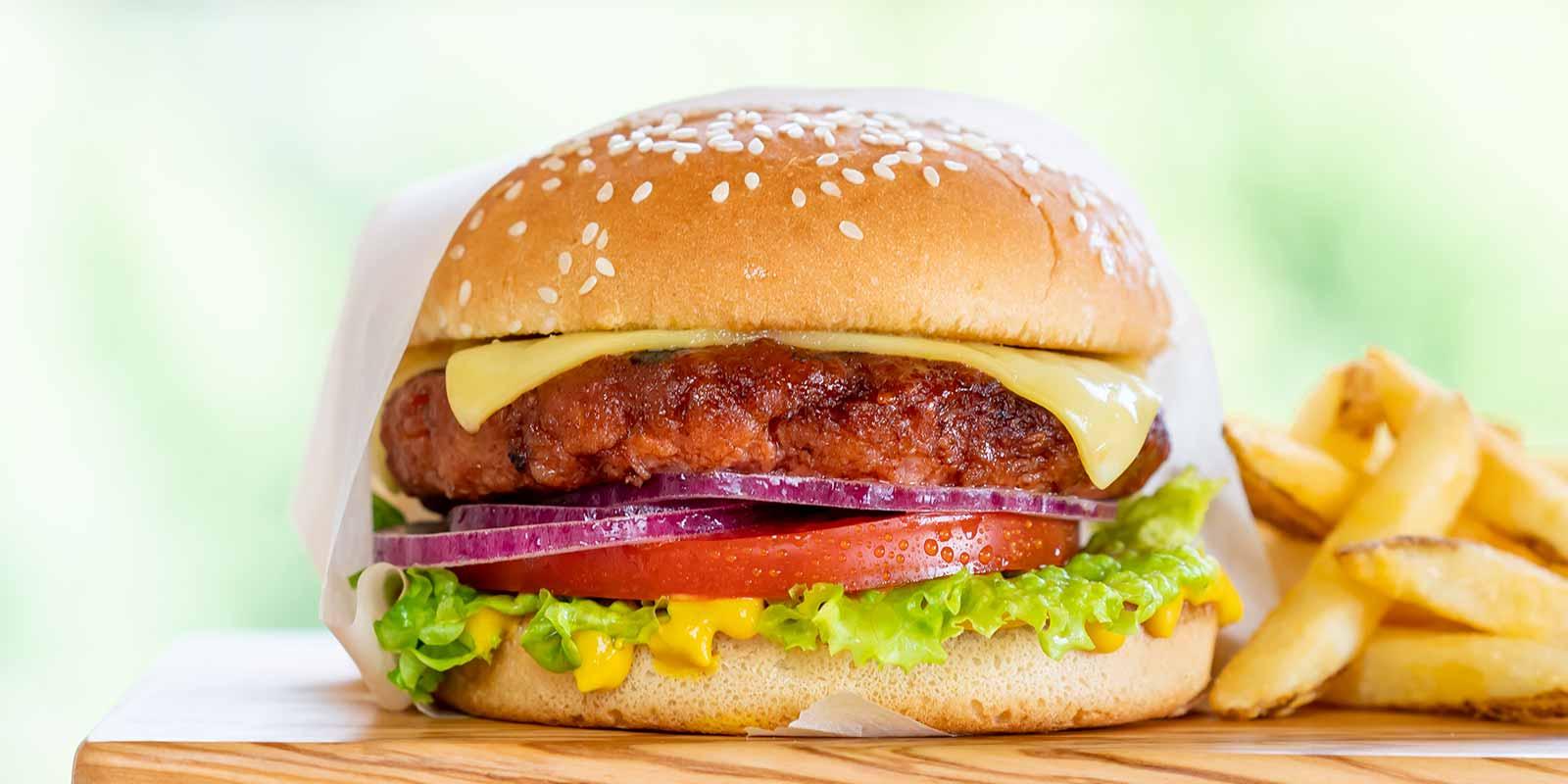 Classic Plant-Based Cheeseburger