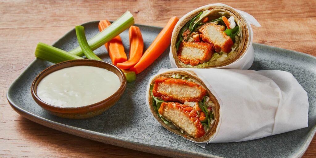 Buffalo Chick'n Wrap
