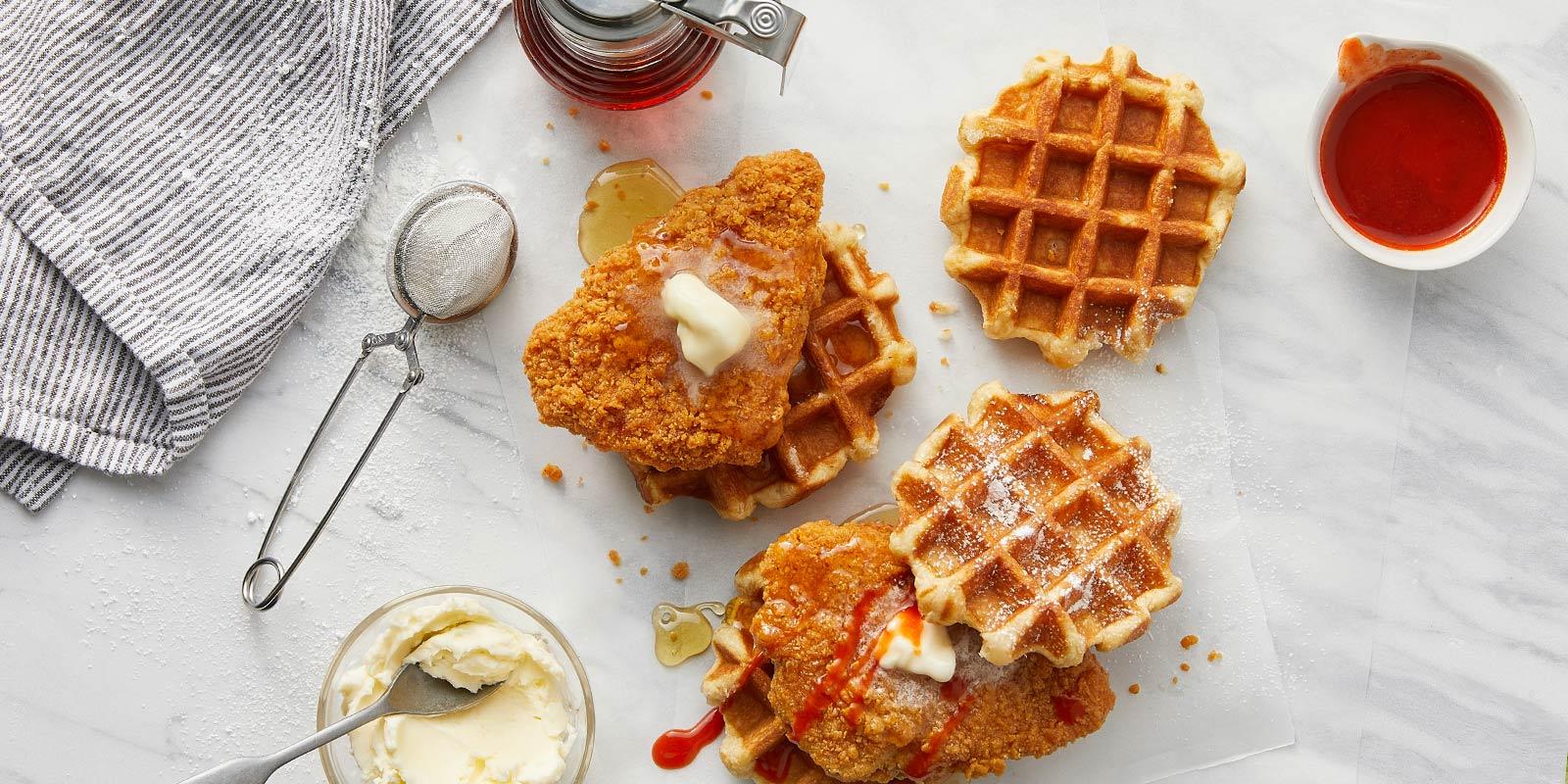 Chick'n & Waffles Breakfast Sandwich